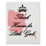 Thank Heaven for Little GIrls Poster
