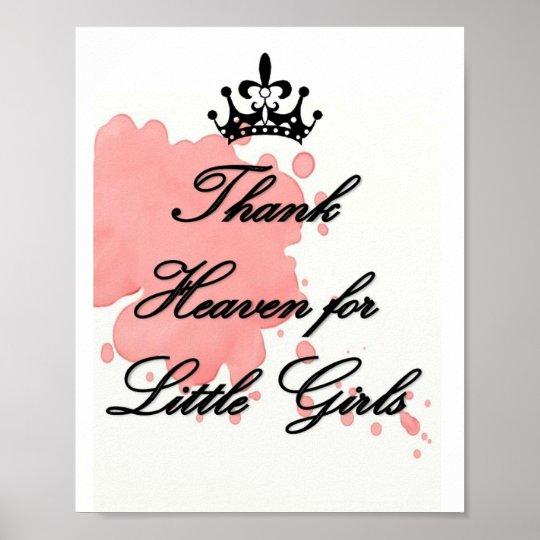 Thank Heaven for Little GIrls Poster