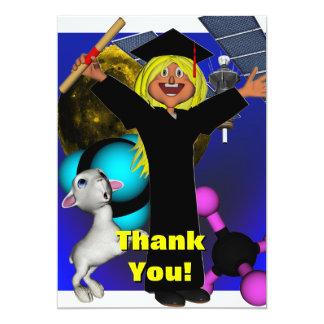 Thank You! 13 Cm X 18 Cm Invitation Card