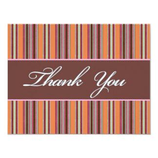 "Thank You 4.25"" X 5.5"" Invitation Card"