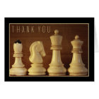 """""""thank you!"""" 5.6x4 Chess Card"""