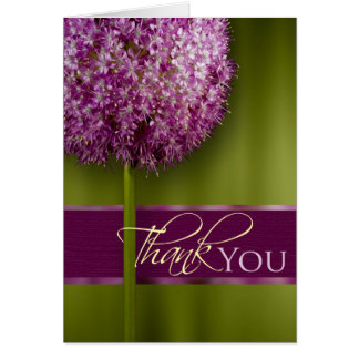 Thank You Acknowledgement Card