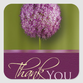 Thank You Acknowledgement Envelope Seal Sticker