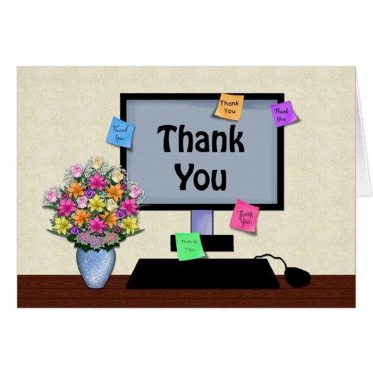 Thank You, Administrative Professional Day Card