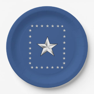 Thank You America Memorial Day Party Paper Plates