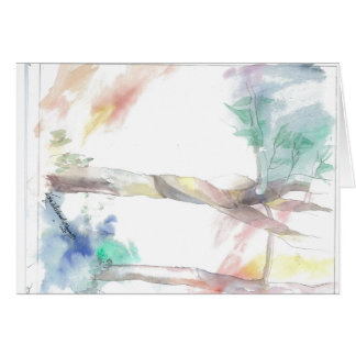Thank you and Spiritual Wishes Greeting Card