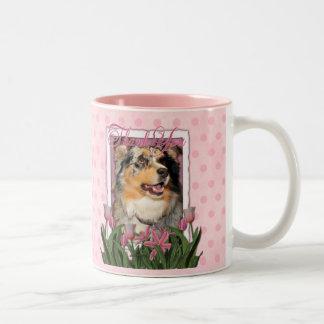 Thank You - Australian Shepherd - Dustine Coffee Mug