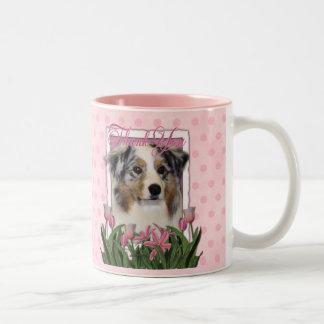 Thank You - Australian Shepherd Coffee Mug