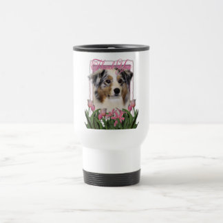 Thank You - Australian Shepherd Travel Mug