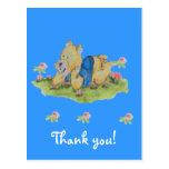 thank you baby  Postcard