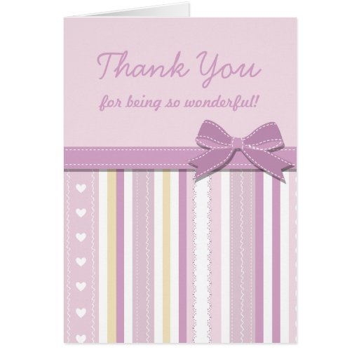 Baby Gift Cards Uk : Thank you baby shower gift greeting card zazzle