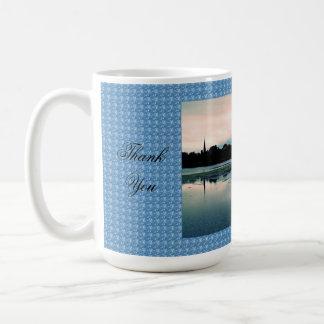 Thank You - Beautiful Hillsborough Lake Basic White Mug
