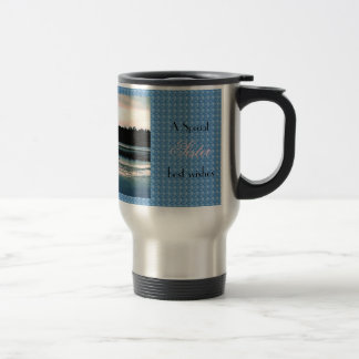 Thank You - Beautiful Hillsborough Lake Stainless Steel Travel Mug