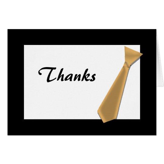 THANK YOU Best Man, etc Card