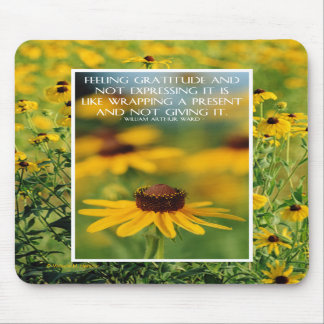 Thank You - Black-Eyed Susans Mousepad