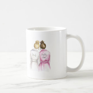 Thank You Blonde Bun Bride Br Bun MOH Coffee Mug