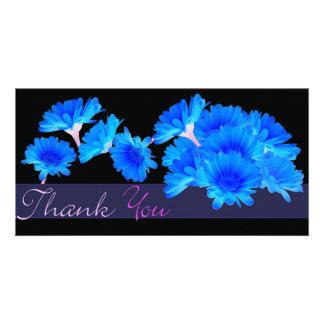 THANK YOU BLUE ASTERS photocard Custom Photo Card