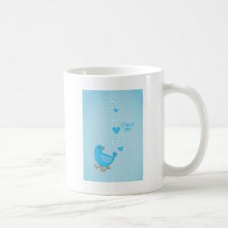 Thank you Blue Bird Basic White Mug