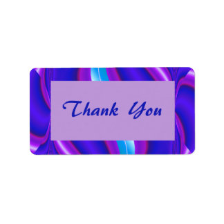Thank You blue purple Label