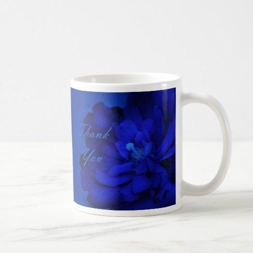 Thank You - Blue Surprise Mug