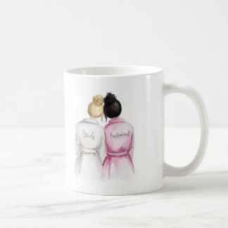 Thank You BM Blonde Bun Bride Bk Bun Coffee Mug