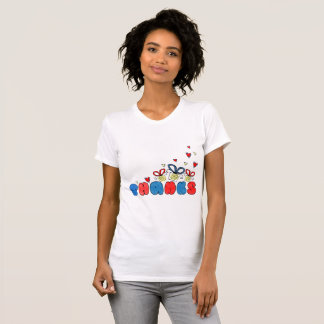"""""""Thank you"""" bold doodle sign with retro halftones T-Shirt"""
