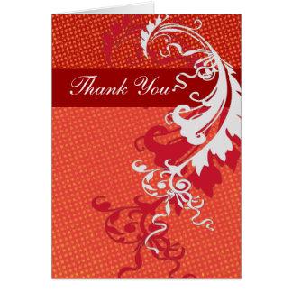 Thank You Bold Elegant Card