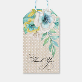 Thank You Bridal Shower Custom Favor Tags