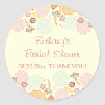 Thank You Bridal Shower Fancy Modern Floral
