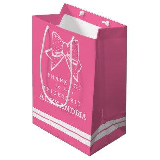 Thank You Bridesmaid Customize The Color Medium Gift Bag