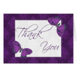Thank You Butterfly Brocade Purple
