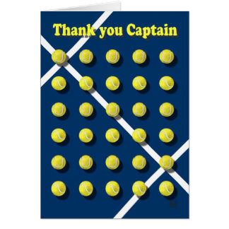 Thank you Captain personalized Card