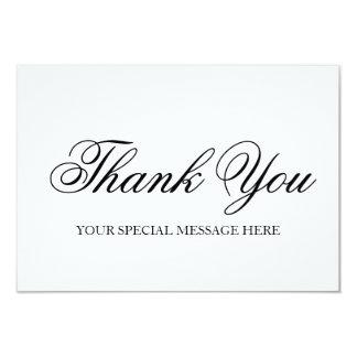 Thank You Card 9 Cm X 13 Cm Invitation Card