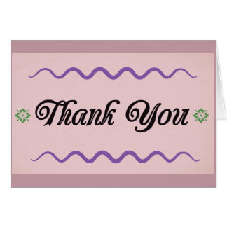 Thank You Card, Blank, Greeting Cards