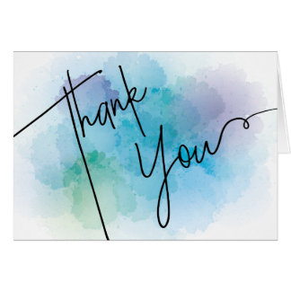 Thank You Card | Blank Inside