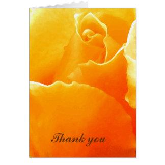 Thank you_ Card_by Elenne Greeting Card