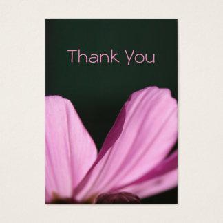 Thank You Card - Comos & Sun - Floral Photography