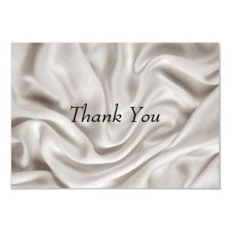 "Thank you Card Cream Wedding Set 3.5"" X 5"" Invitation Card"
