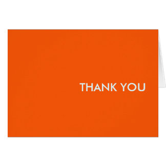 "Thank you card--""orang-a-tang"" card"