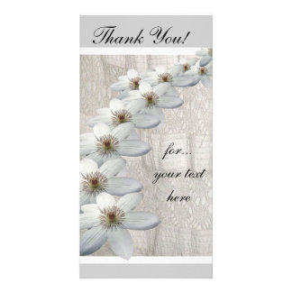 Thank You Card Pack of 10 Customized Photo Card
