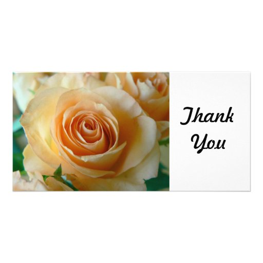 Thank You Card Personalized Photo Card