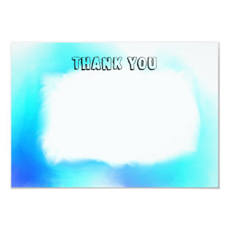 Thank You card space for messages 9 Cm X 13 Cm Invitation Card