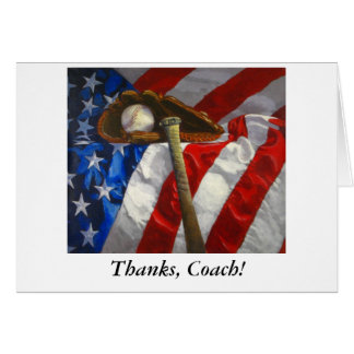 Thank you card to Coach