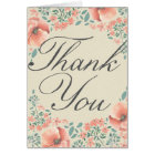 THANK YOU CARD | Vintage Storybook Baby Shower