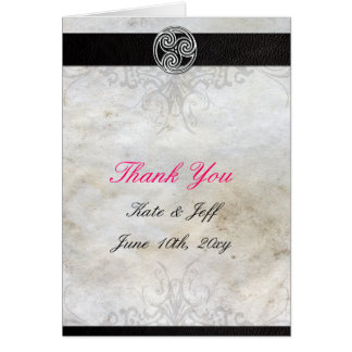 Thank You Cards- Celtic Gaelic Knot Greeting Card