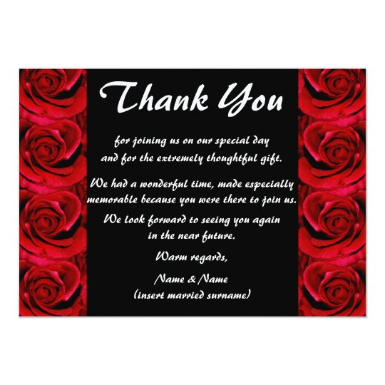 Thank you cards - customisable
