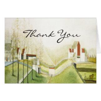 Thank You - Charming Farm Card
