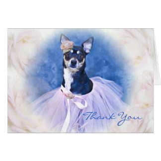 Thank You - Chihuahua Card