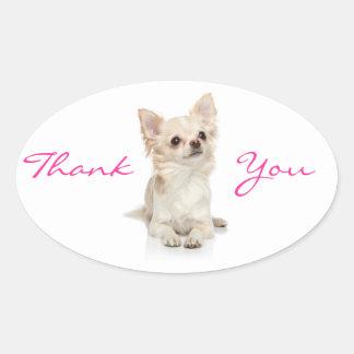 Thank You Chihuahua  Sticker