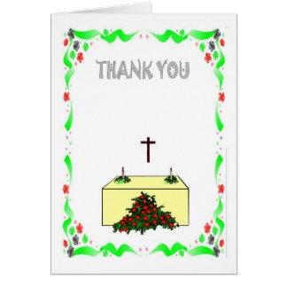 Thank you - Church Greeting Card
